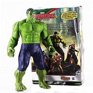 "Hot Action 30cm Anime Marvel Heros Figure The Avengers 2 Hulk PVC 12"" Collection Hobby Movable Model Doll Best Gift Cospla..."