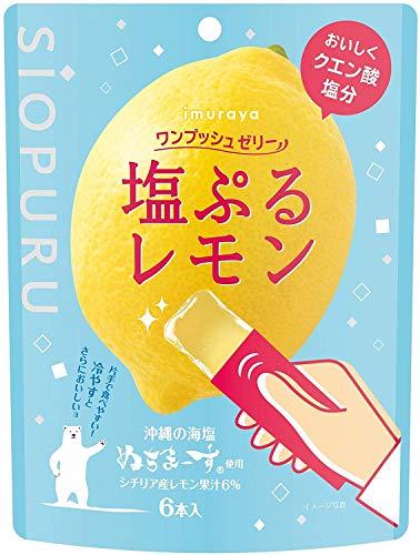 井村屋 ワンプッシュゼリー 塩ぷるレモン 6本×4袋