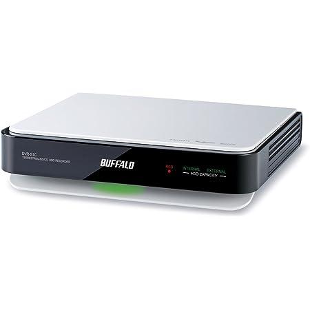 BUFFALO コンパクト・静音 HDDレコーダー 500GB DVR-S1C/500G