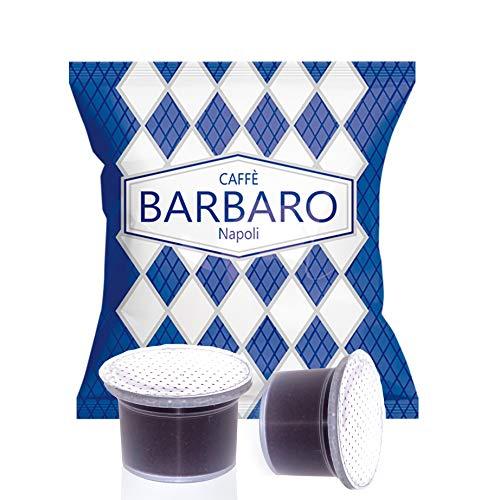 CAFFE' BARBARO Napoli compatibile Uno Indesit System illy kimbo miscela blu cremoso napoli pz 100 Capsule