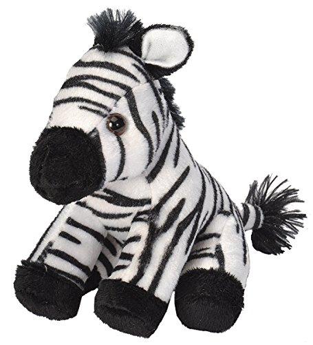 Wild Republic 18115 - CK Lil's Plüsch Zebra, 15 cm