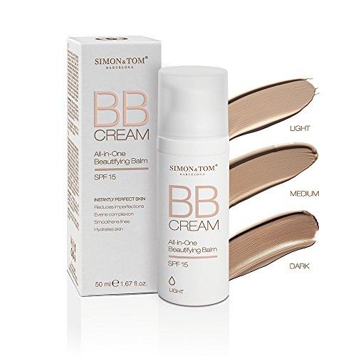 Simon&Tom BB Cream. 3 Nuancen für eine makellose Haut mit perfekter Tönung. (Licht)