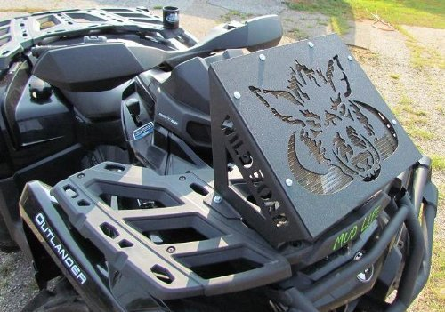Wild Boar ATV Parts Radiator Relocation Kit for Can-am Outlander 500/650/800/850/1000 12-Up