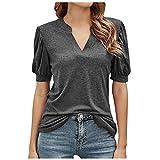 Camisetas Deporte Mujer Fitness,Camiseta con Estampado de Arcoiris para Mujer, Manga Corta, Cuello Redondo, algodón, Camiseta Holgada, Camisetas básicas para Verano al Aire Libre