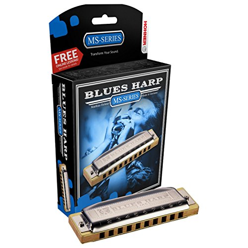 Hohner Blues Harp Mundharmonika in Bb-Dur