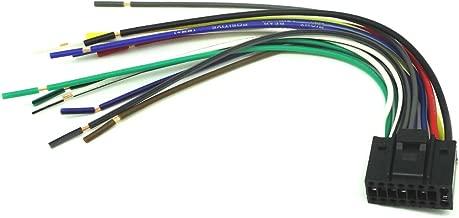 ConPus 16-PIN Radio CAR Audio Stereo Wire Harness for Kenwood KDC-MP202 KDC-MP2035 Ad027