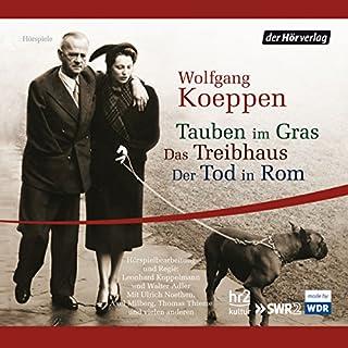 Tauben im Gras / Das Treibhaus / Der Tod in Rom Titelbild