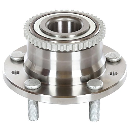 AutoShack HB612273 Wheel Bearing Hub Rear Driver or Passenger Side Wheel Hub Bearing and Assembly 5 Lugs with ABS Replacement for 2006-2012 Ford Fusion 2007-2012 Lincoln MKZ 2003-2008 Mazda 6