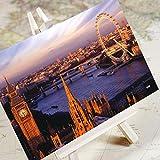 Charming City Series-Londres/Ciudad Paisaje Arquitectura HD Fotografía Viaje Postal/Tarjeta 6/Set