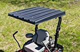 RDJ Trucks Made in The USA - American-Shade Zero-Turn Lawn Mower and Utility Tractor ROPS Solid ABS Canopy/Top (36 Inch Canopy)
