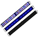 Aquarien ECO - Lámpara de 120 cm para acuario, 120 cm – 150 cm, Rampa de acuario, LED, blanco, azul, rojo, verde, luz SMD, 2 modos de iluminación para peces plantas, A175