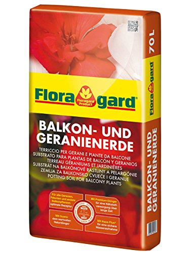Floragard Balkon- und Geranienerde 70 L