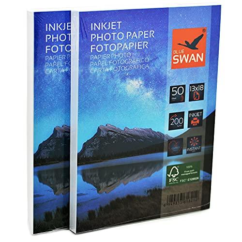 BLUE SWAN -  100 Blatt Fotopapier