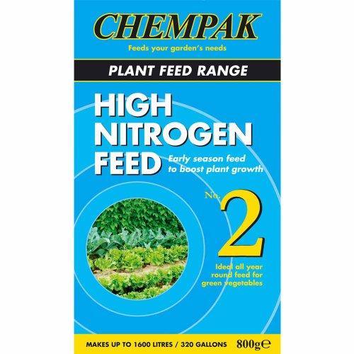 Chempak No.2 High Nitrogen Plant Feed 800G