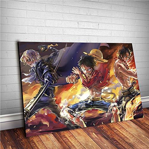 Placa Decorativa One Piece #A02 (40x30)