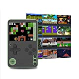 2.4'' Mini Handheld Retro Game Console Built-In 500 Classic 8 Games 2.4 Bit Screen-Video Gameboy advance consoles-90s toys hand held gamer machines-gaming consoles for home kids ages 4-8 Green