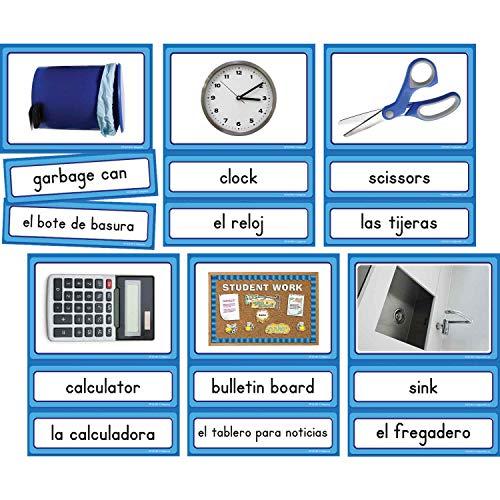 Edupress Spanish/English Classroom Labels Accents (EP63189)