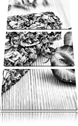 Gezonde graanrepenFoto Canvas 3 deel | Maat: 120x80 cm | Wanddecoraties | Kunstdruk | Volledig gemonteerd