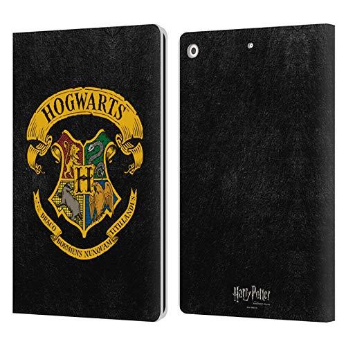 Head Case Designs Offizielle Harry Potter Hogwarts Kamm Sorcerers Stone I Leder Brieftaschen Handyhulle Hulle Huelle kompatibel mit Apple iPad 102 20192020