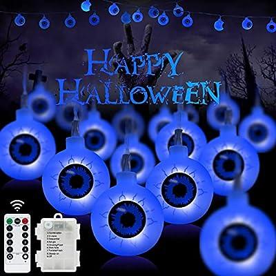 30 LED Halloween Eyeball String Lights-16FT Out...