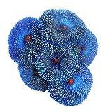 Lankater Ornamento Planta De Acuario Artificiales De Resina Coral Sea Fish Tank Decoración Simulación No Tóxico