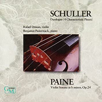 Schuller / Paine: Works for Violin & Piano