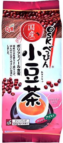OSKべっぴん国産小豆茶ティーパック(6g×20袋)×3個