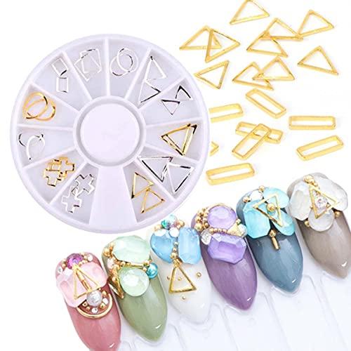 Brillo, diamantes de imitación, cuentas irregulares, rebanadas de frutas, puntas de uñas DIY, decoración, manicura, diseño de uñas DIY, gemas de cristal, diamantes de imitación