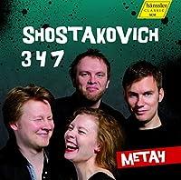 ショスタコーヴィチ: 弦楽四重奏曲集 (Shostakovich: String Quartets Nos. 3, 4, 7 / META4) [輸入盤]