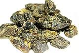 Almkristall | Gapatec Bernstein Blauer Natur-Bernstein 200g Honig-Klar bis Braun gebändert