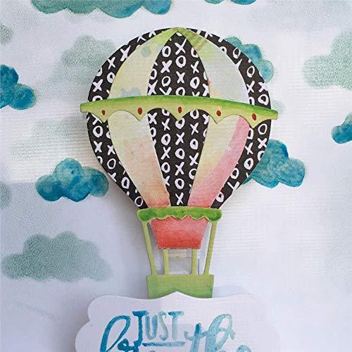 Hot Air Balloon Metal Cutting Dies Scrapbooking voor het maken van kaarten Photo Album Decoratieve Embossing DIY Ambachten Stencil, Snijden Dies,Verenigde Staten