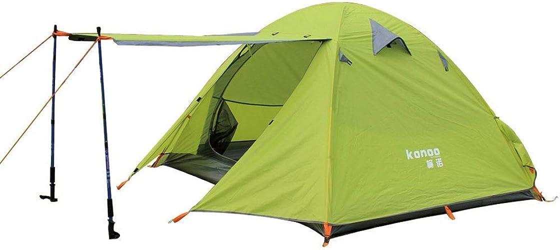 GFF Camping, Plage, Pique-Nique, Pêche, Randonnée Tente Anti-UV Super Preuve du Vent Preuve de l'eau Facile à configurer Jusqu'à 3-4 Adultes