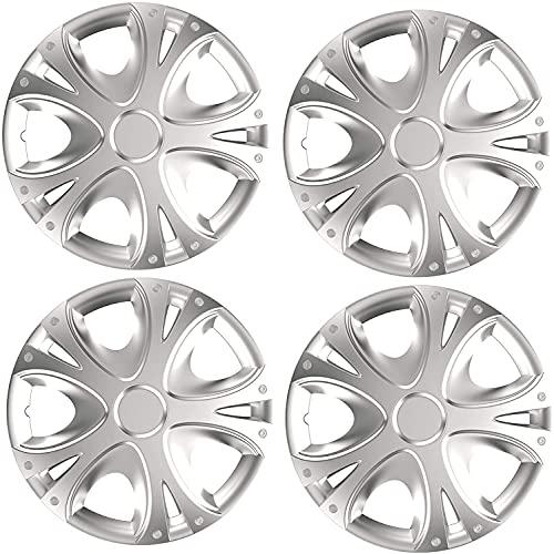 Set de 4 Automotive Tapacubos para Ford Focus Mondeo Fiesta KA C-Max, 14' Hermosos Accesorios Decoración Modificados