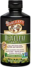 Barlean's Peppermint Olive Leaf Complex with 7,700 ORAC and 95mg Oleuropein - Non-GMO, Sustainably Sourced, Kosher - 16-Ounces