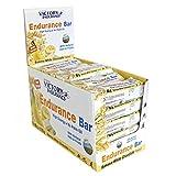 Victory Endurance Barrita Endurance Chocolate blanco- Plátano, enérgetica, natural y sin aceite de...