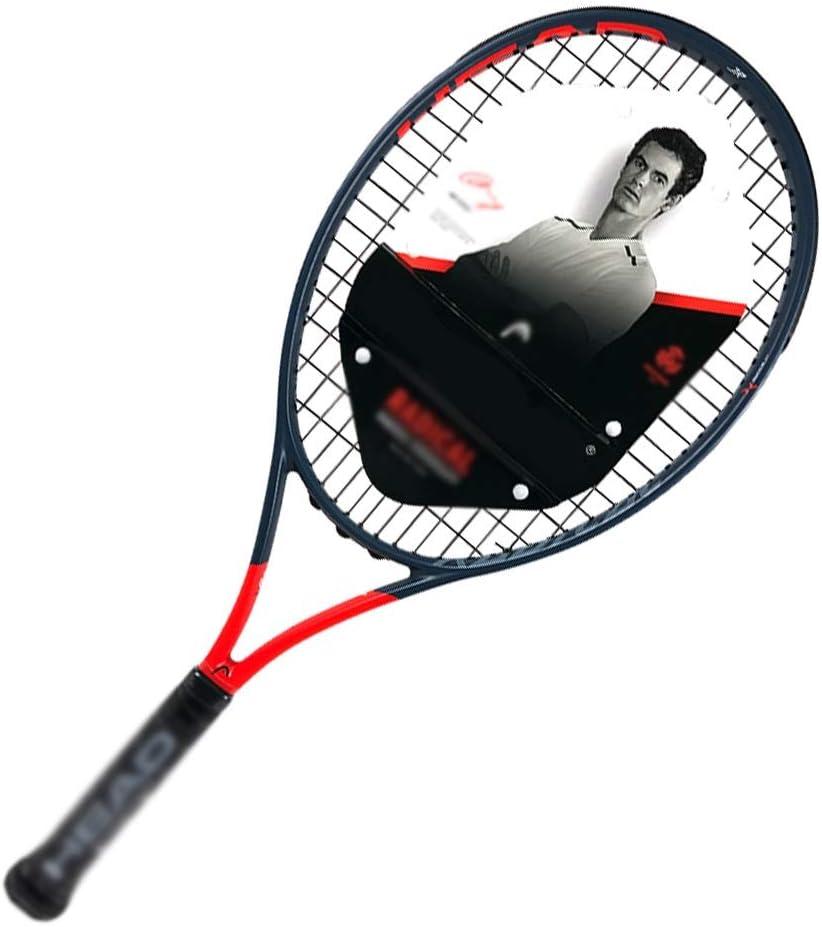 Amazon.com : Tennis racket Beginner Tennis Men's Sports Tennis Full Carbon  Fiber Outdoor Sports Racket Leisure Sports Racket (Color : Red, Size :  660cm) : Sports & Outdoors