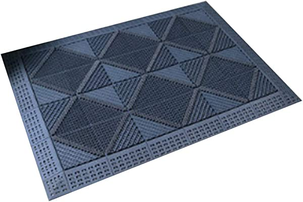 Bath Mat Kids Bath Rugs Non Slip Mat Foot Pad The Mall Carpet Main Entrance Hotel Outdoor Splice Dust Removal WEIYV Color Gray Size 90150cm