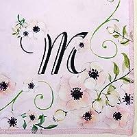 【3carat】おもてなしクロス お花畑とイニシャル (M)