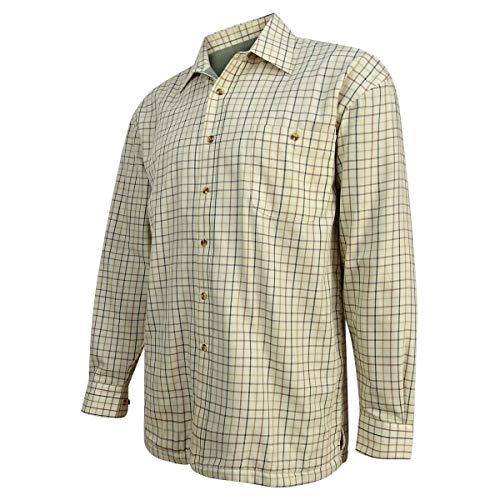 Hoggs of Fife Bouleau Doublé Polaire T-Shirt Olive/Tan