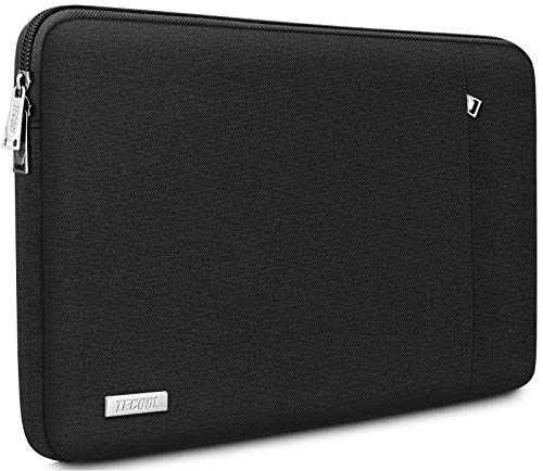 TECOOL 14 Zoll Laptoptasche Notebook Hülle Tasche Sleeve Hülle für HP Stream EliteBook 14, Lenovo IdeaPad ThinkPad 14, Acer Aspire Chromebook 14, Dell Inspiron 14, Schwarz