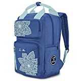 High Sierra Life is Good Mindie Backpack - Travel Laptop Backpack - Great for Students or Professionals - Fits Most 15-inch Laptop Models, Vintage Blue/Bermuda Blue