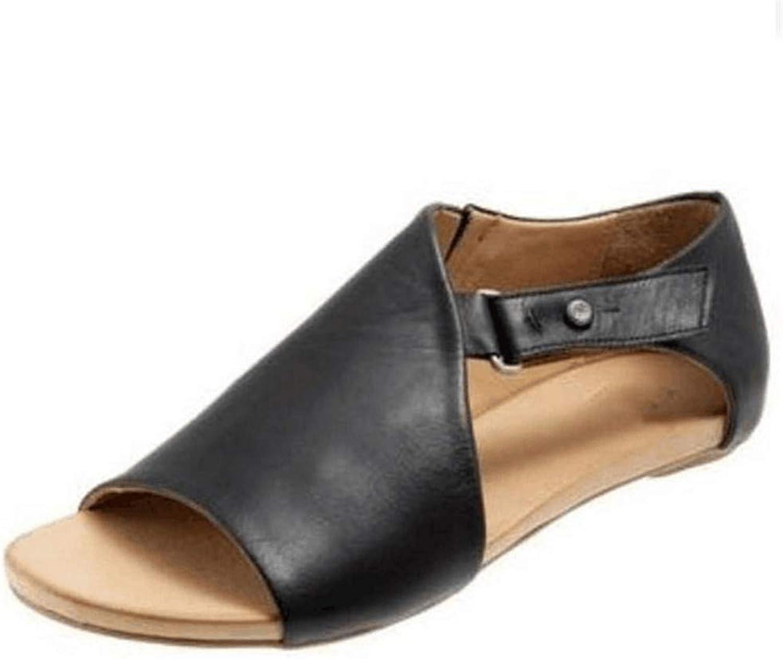 goldencar Women Sandals Flip Flops Flats 2019 New Summer Fashion Wedges shoes Woman Slides Buckle Lady Casual