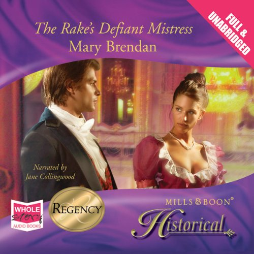 Rake's Defiant Mistress audiobook cover art