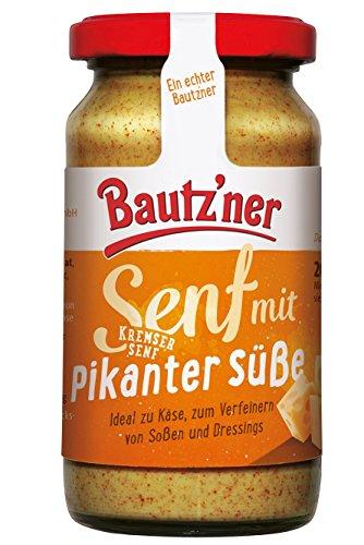 BAUTZ'NER Kremser Senf, 12er Pack (12 x 200 ml)