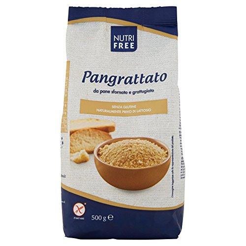 Nutrifree Pangrattato senza Glutine senza Lattosio 500 G, confezione da 5