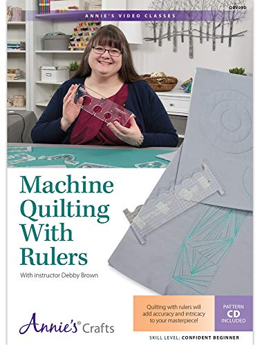 Machine Quilting with Rulers DVD