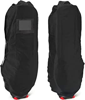 【EARTH LEAD】ゴルフ トラベルカバー キャディバッグ ゴルフバッグ カバー 9.5型 48インチまで対応 頑丈 軽量