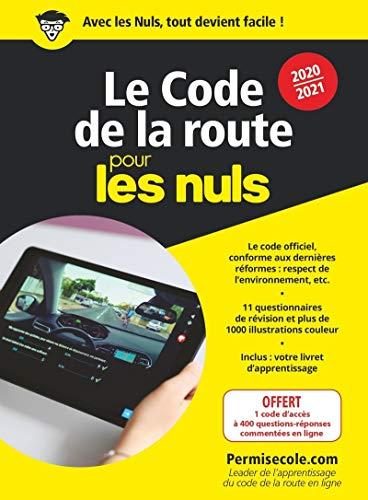 Le code de la route 2020-2021 pour les Nuls, mégapoche