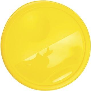 "Rubbermaid 12, 18 and 22 qt Yellow Plastic Lid - 13 1/2""Dia"