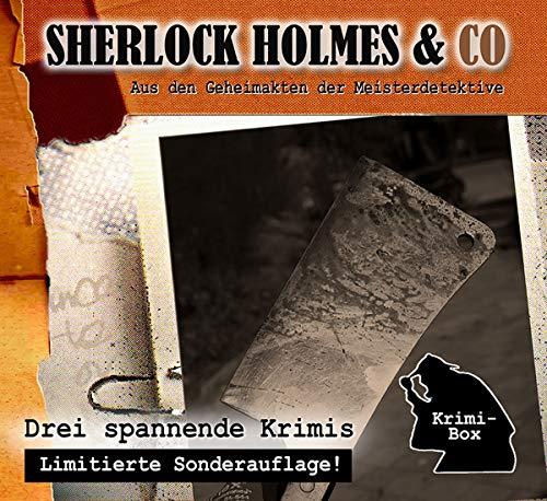 Sherlock Holmes & Co-die Krimi Box 12 (3cd)